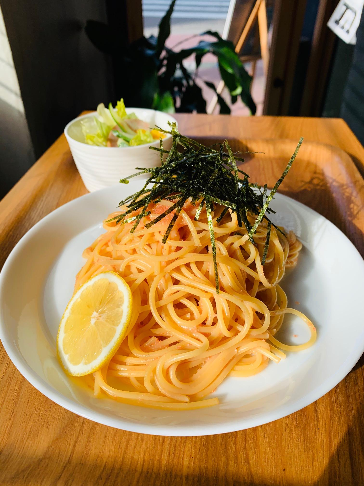博多めんたいこスパゲッティ